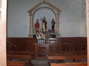 interior ermita San Vicente