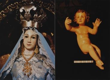 Virgen del Rosario - Peraleda - Caras