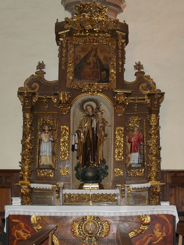 Altar de la Virgen del Carmen