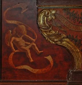Angelito del altar de la Virgen del Carmen