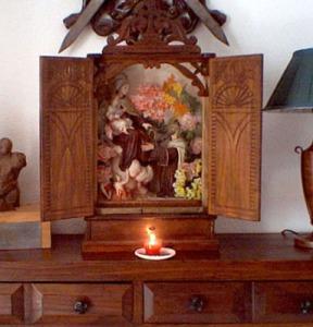Capilla portátil Virgen del Carmen