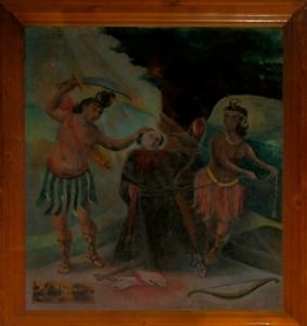 Martirio de Fray León de Peraleda