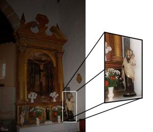 Virgen del Carmen en Viandar de la Vera