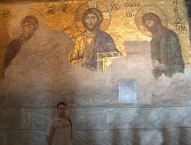 Angel en Santa Sofía, Constantinopla