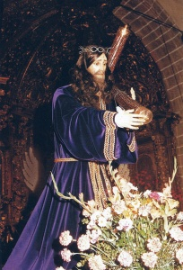 Santísimo Cristo de la Humildad, patrón de Peraleda de la Mata.