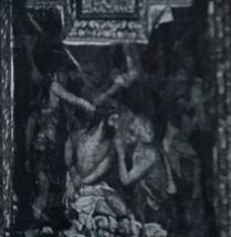 cuadro retablo Cristo