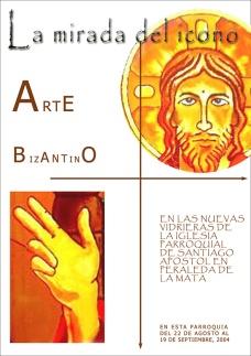 La mirada del icono - Cartel exposición