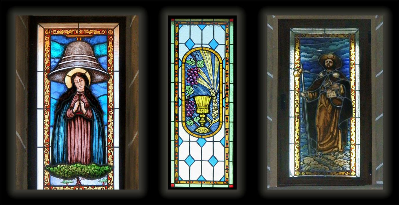 Iconograf a 4 vidrieras peraleda de la mata - Modelos de vidrieras ...