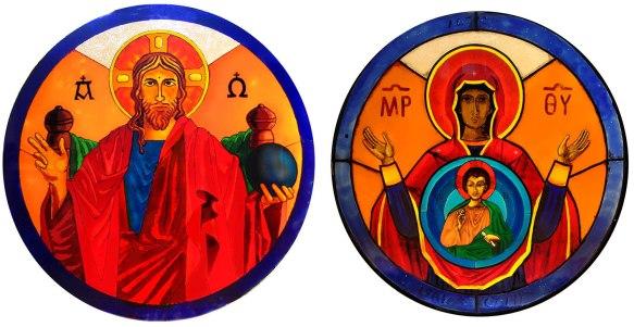 Vidrieras del Coro - iglesia de Peraleda de la Mata