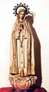 Virgen de Fátima en Peraleda