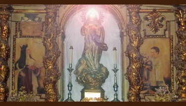 Retablo de la Inmaculada en Peraleda de la Mata