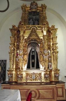 Retablo Virgen de la Soledad - Peraleda