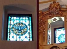 vidrieras capilla Peraleda