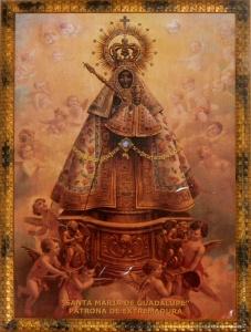 Virgen de Guadalupe de la sacristía de Peraleda