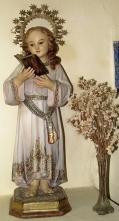 Virgen Niña en la capilla de Peraleda de la Mata
