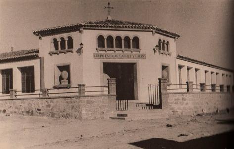 Grupo Escolar Gabriel y Galán - años 1959