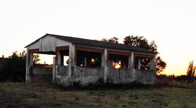 Aspecto actual de Los Lavaderos, ya sin pilas ni agua.