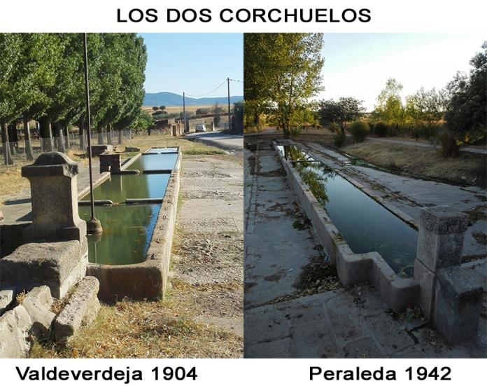 En 1942 Lucio García hace en el Corchuelo un abrevadero según el modelo del existente en su pueblo