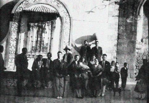 Antigua Pilata en la plaza