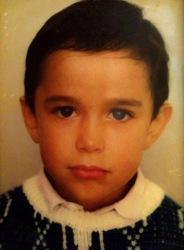 Delfín Ortega Sánchez niño